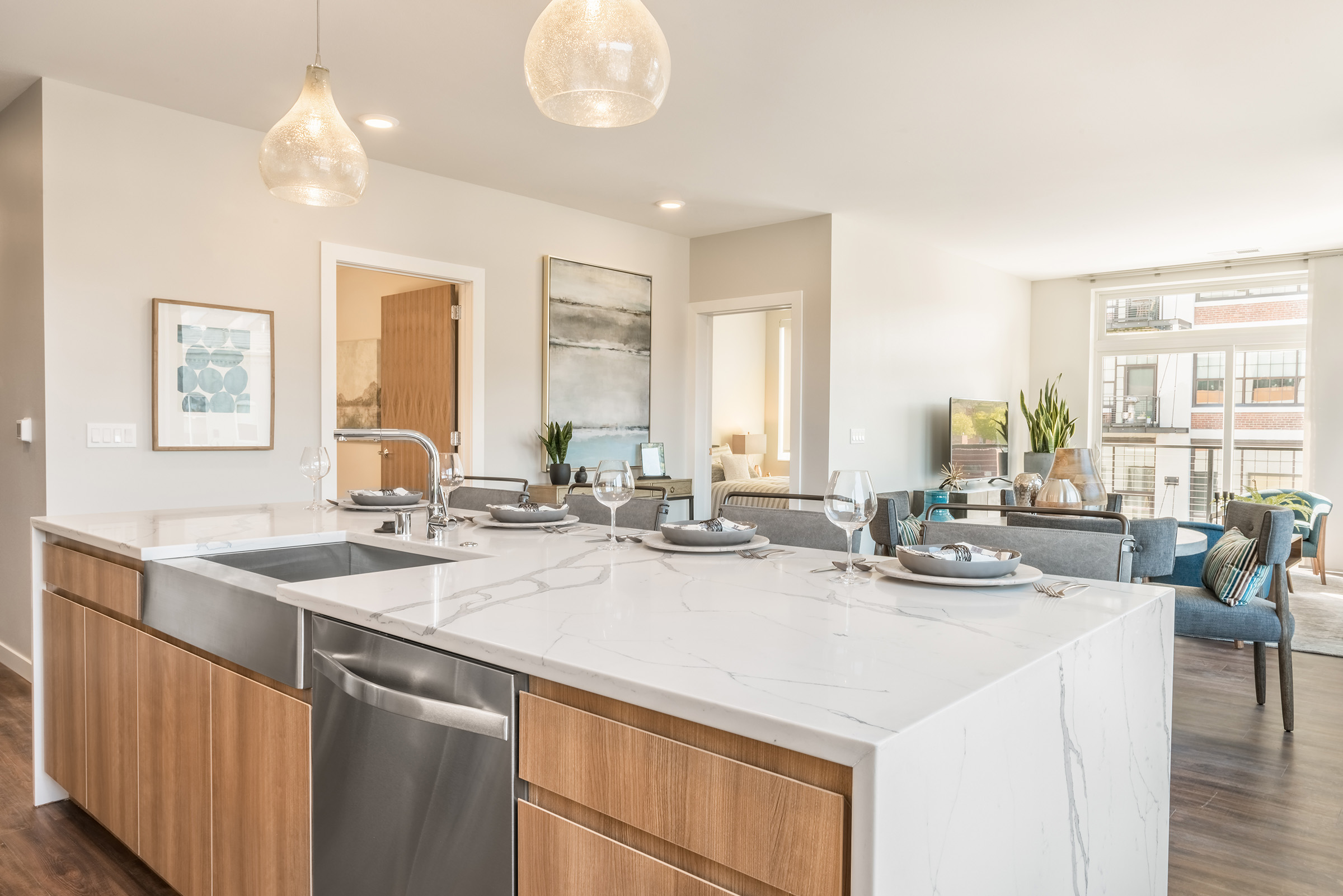 Home Redefined Domus Apartment Homes Peabody S Interiors